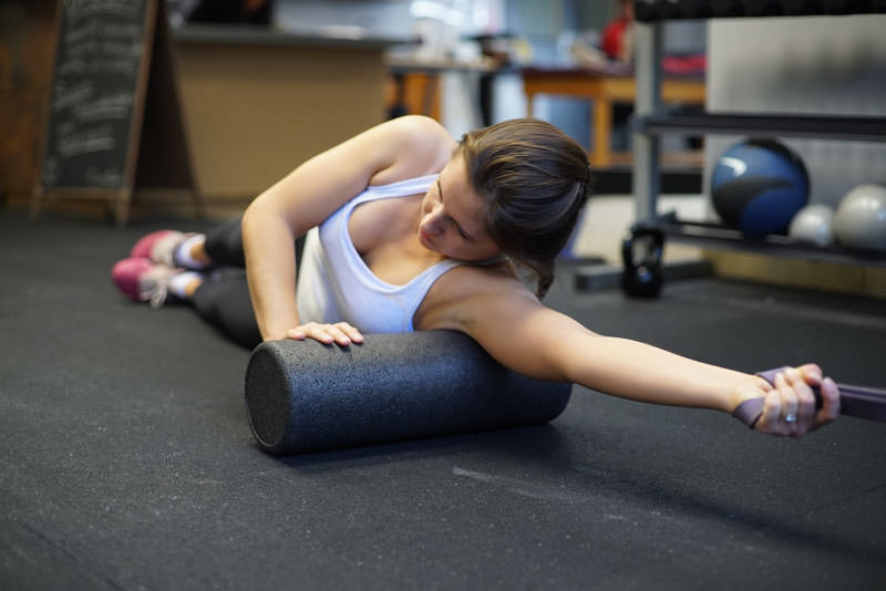 Foam Roll Deep Tissue