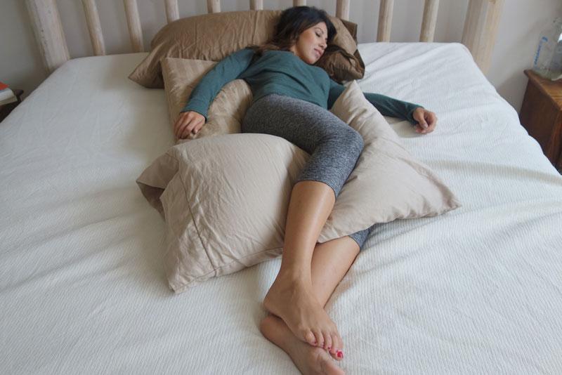Side-Sleeping-Leaning-Back